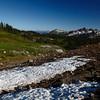 <p>Snowman view. Paradise, Mount Rainier National Park, Washington, USA</p>