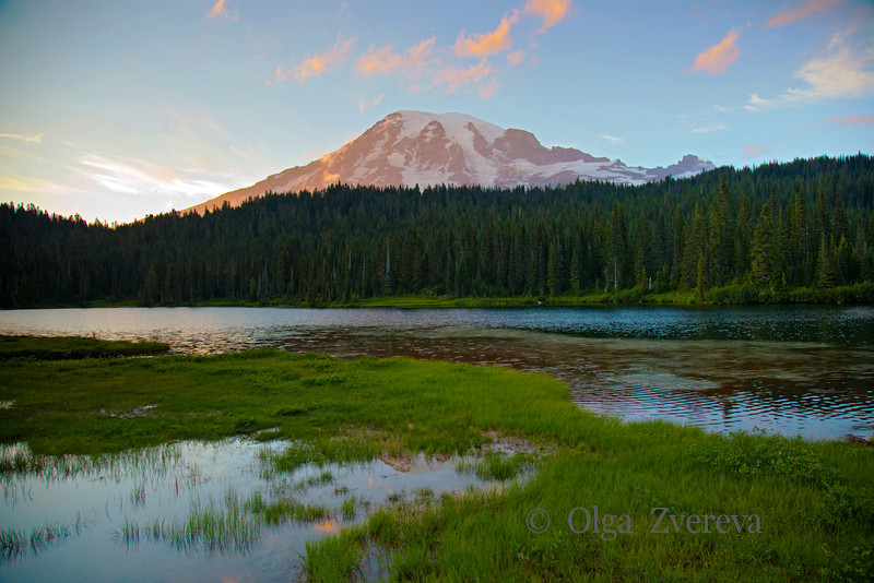 <p>Reflection Lake, Mount Rainier National Park, Washington, USA</p>