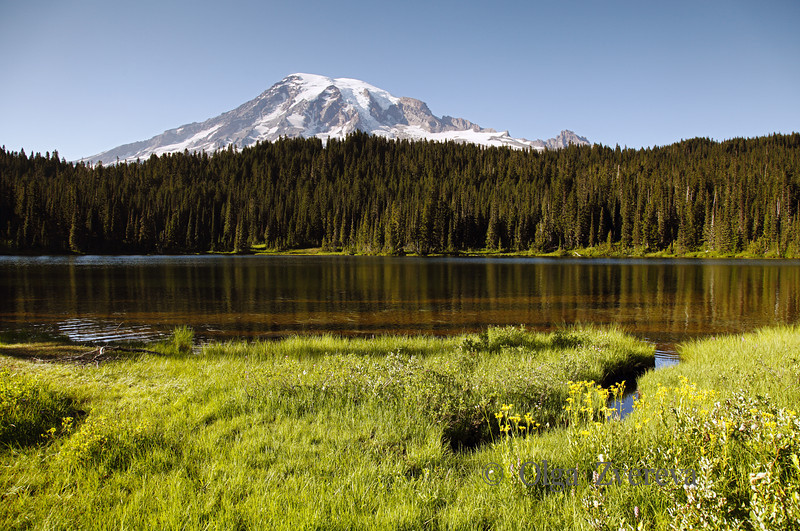 <p>Reflection Lake, Mount Rainier National Park, Washington, USA</p>