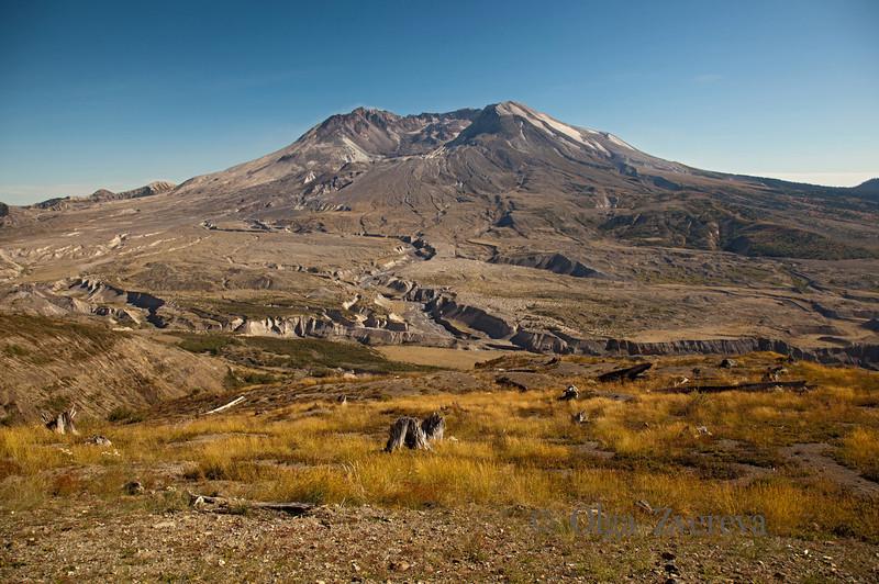 <p>Mount St Helens National Volcanic Monument, Washington, USA. 9/2/2012</p>