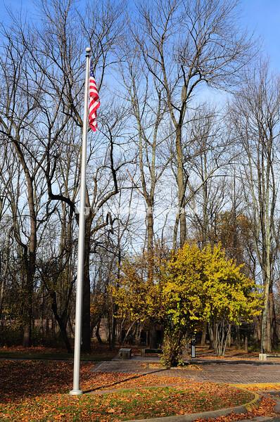 Entrance to Jockey Hollow Run at the Morristown National Park.