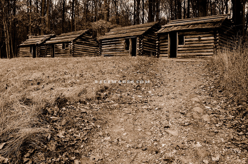 Soldier's huts.
