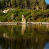 <p>Reflection at Ruby Beach, Olympic National Park, Washington, USA</p>