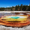 <p>Chromatic Pool, Upper Geyser Basin, Yellowstone National Park, USA</p>