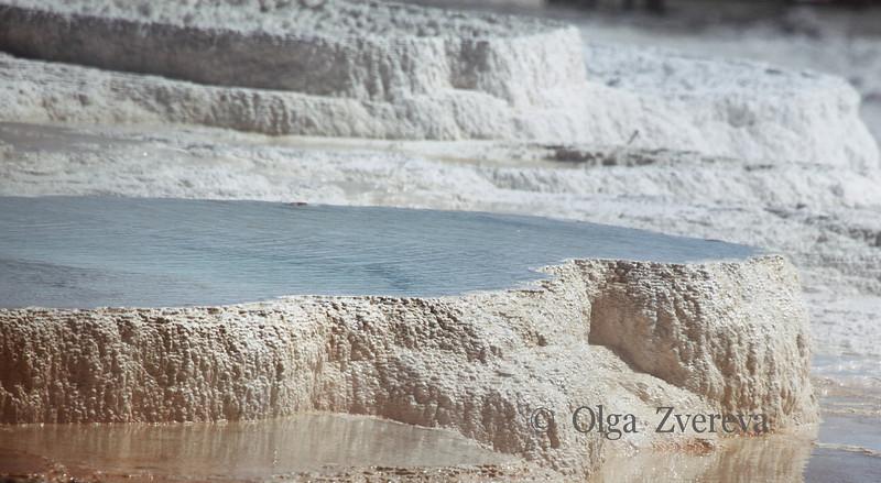 <p>Main Terrace. Mammoth Hot Spring area, Yellowstone National Park, USA</p>
