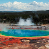 <p>Grand Prismatic Spring, Yellowstone National Park, USA</p>