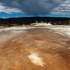 <p>Upper Geyser Basin, Yellowstone National Park, USA</p>