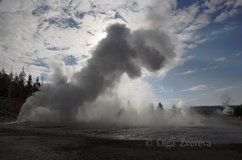 <p>Upper Geyser Basin, Yellowstone National Park, USA</p> <p>Octover, 2012</p>