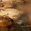 <p>Thermal pool at Norris Geiser Basin, Yellowstone National Park, USA</p>