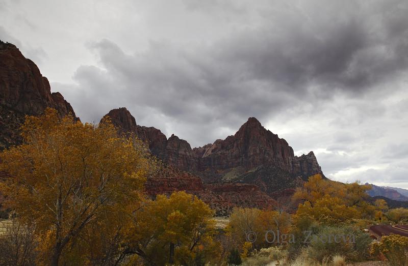 <p>Watchman, Zion National Park, Utah, USA</p>
