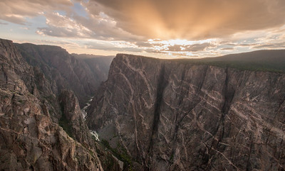 Painted Wall  - Black Canyon of the Gunnison, CO