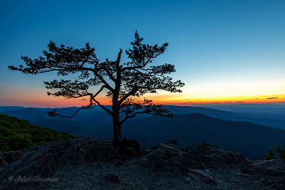 Blue Hour - Ravens Roost Overlook