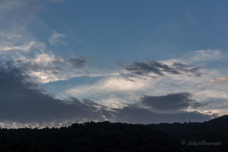 Rockfish Gap Sky at Dusk
