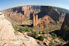 Aerial View of Spider Rock - Canyon de Chelly Arizona
