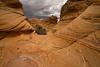 Flowing Sandstone in Coyote Buttes South, Utah