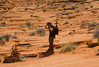 Getting a Picture Taken of Pat Taking a Picture - Coyote Buttes, Arizona/Utah Border