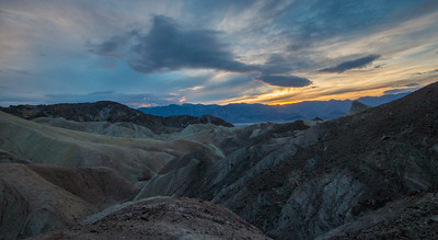 Zabriski Point Sunset
