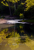 Afternoon Reflections on Lee Creek - Devils Den State Park - Photo by Cindy Bonish
