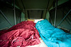 Sleeping in Comfort in the Desert - White Rim Trail, Utah - Photo by Pat Bonish