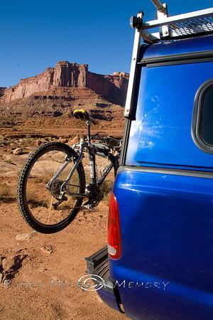 Exploring the White Rim Trail and Canyonlands National Park, Utah - October 2009