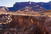 Notice the White Rim along the edges of the Canyon, Hence where the trail gets its name - Canyonlands National Park - Photo by Pat Bonish