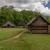 Mountain Farm Museum - Corn Crib, Gear Shed, & Drovers Barn