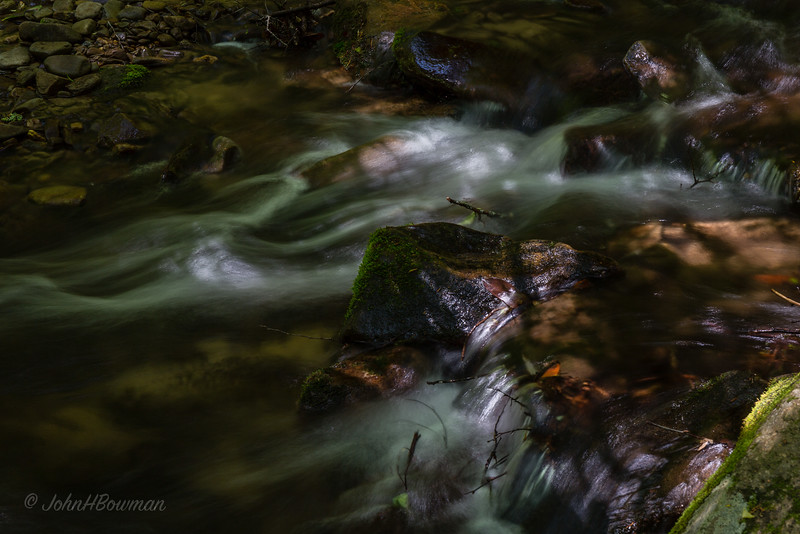 Small Rapids - Mingus Creek, Near Mingus Mill