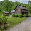 Mountain Farm Museum - Smokehouse & House