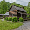 Mountain Farm Museum - Smokehouse & House