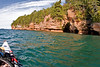 Paddling Lake Superior along the Apostile Islands Seashore