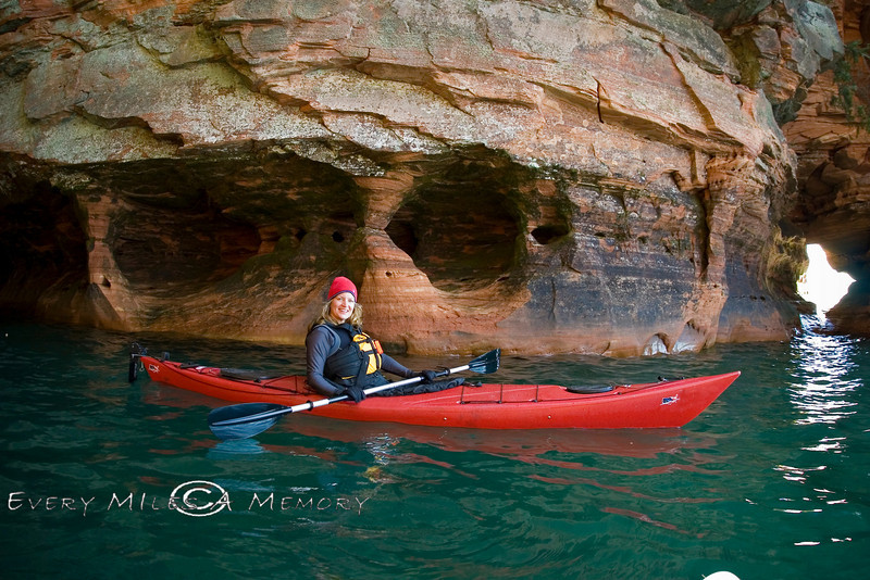 Paddling Along the Apostle Islands Lakeshore