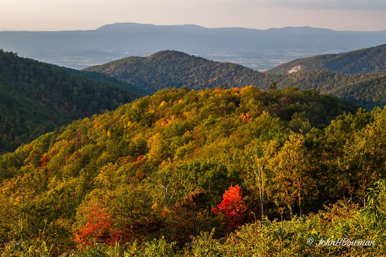 Brown Mountain Overlook