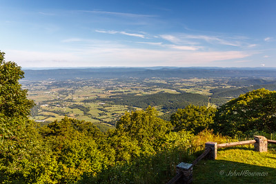 Shenandoah Valley - from Skyland Resort