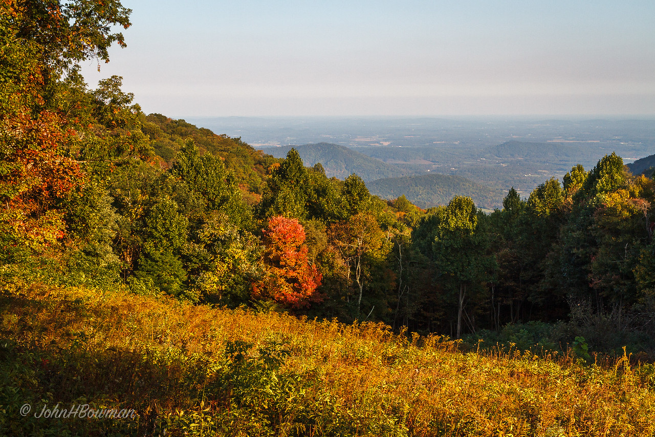 South River Overlook - Fall