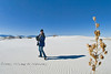 Hiking Through White Sands National Monument