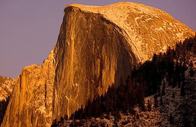 half dome sunset_9903