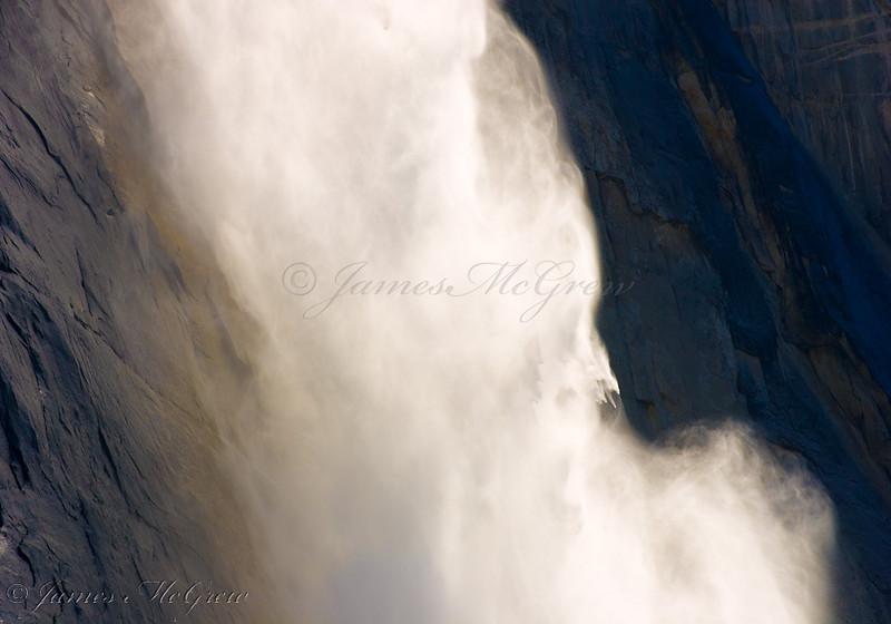 Upper Yosemite Fall.  Copyright, ©2009  James McGrew