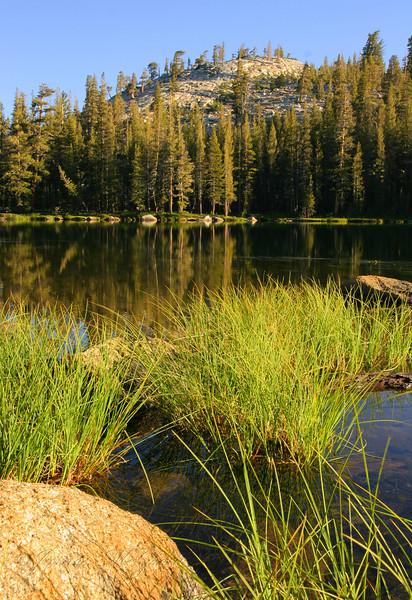 Upper Sunrise Lake, Morning.  Copyright ©2007, James McGrew.