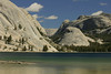 """Tenaya Lake. Copyright ©2004, James McGrew.<br /> <br /> The lake is named for Chief Tanaya who was captured near this area.  However, Tenaya called the lake Py-wi-ack, meaning """"Lake of the Shining Rocks."""""""