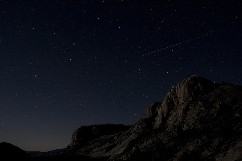 Ursa Major Above Wildcat, Glen Aulin.  Copyright, ©2010 James McGrew