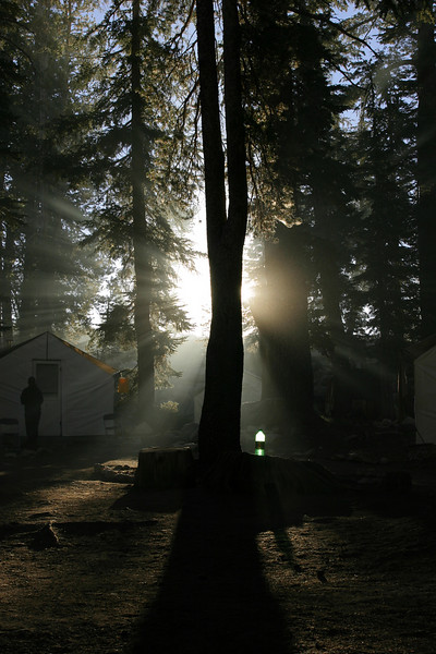 May Lake High Sierra Camp.  Copyright ©2004, James McGrew.