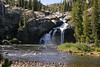 White Cascade, Glen Aulin.  Copyright ©2004, James McGrew.