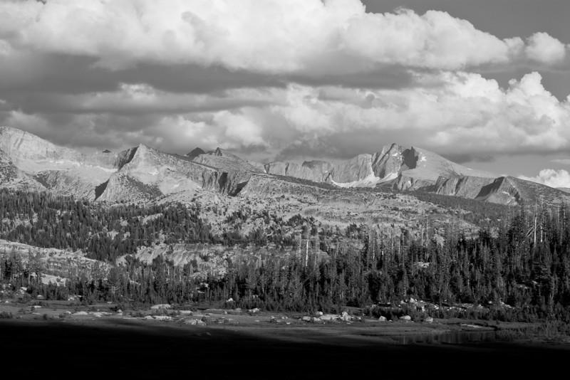 Vogelsang, McClure and Mt. Florence, late afternoon.