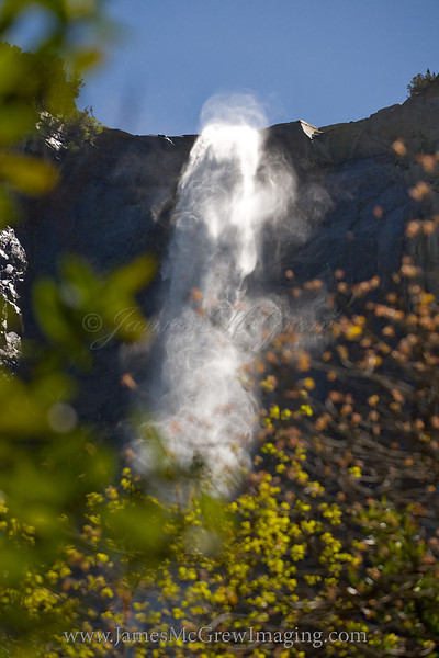 Bridalveil Spring swirls.  ©2012, James McGrew
