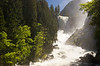 Vernal Fall in heavy spring flood.  <br /> <br /> _MG_1596 copy