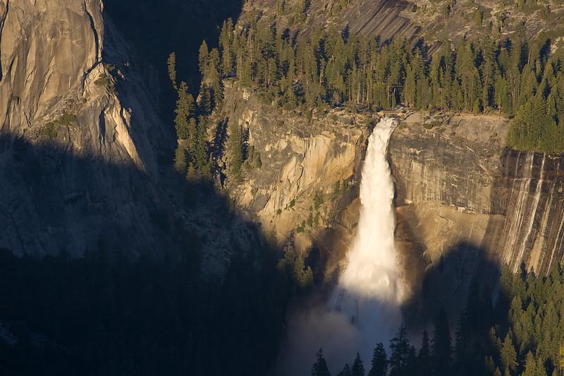 Nevada Falls from Glacier Pt.