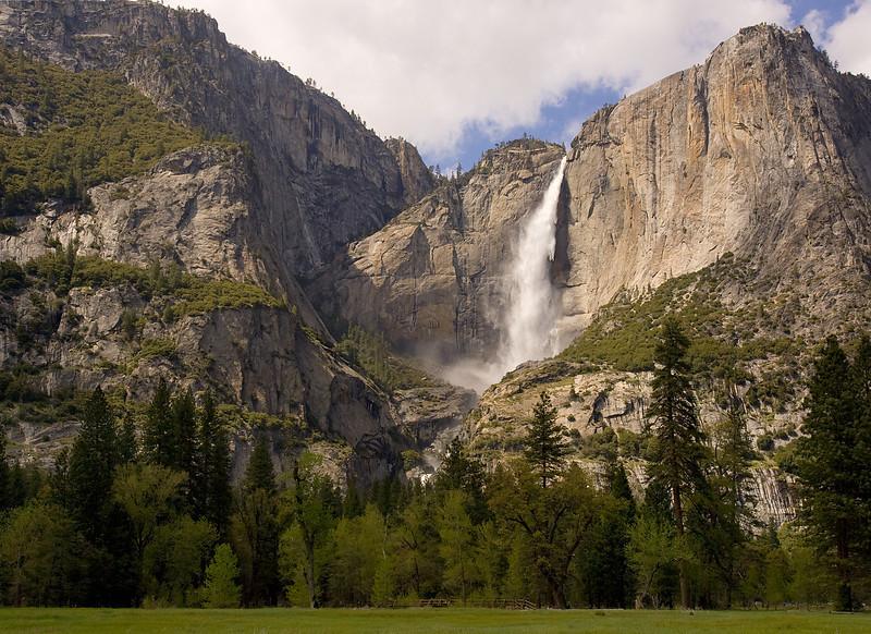 Yosemite Falls, May From Chapel Meadow.  ©2010, James McGrew