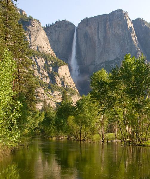 Yosemite Falls, Spring Morning.