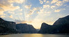 Heavenly Rays over Hech Hetchy.  Copyright © 2008, James McGrew<br /> 9x18 on Epson Velvet Fine Art 100% cotton rag.   Limited Edition of 75