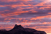 September Sunset over Cathedral Peak.  Copyright, ©2009, James McGrew